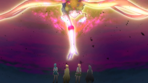 Sailor Moon Crystal Act 13 - giant Sailor Moon